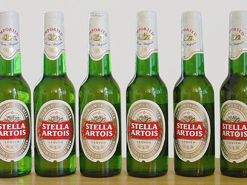Stella Artois and Another 2 Sterograms