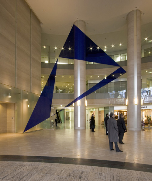 Geometric Projection by Felice Varini in Paris | Colossal |Felice Varini Him