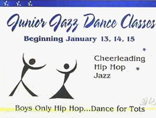 Dancing School Flyer Illusion