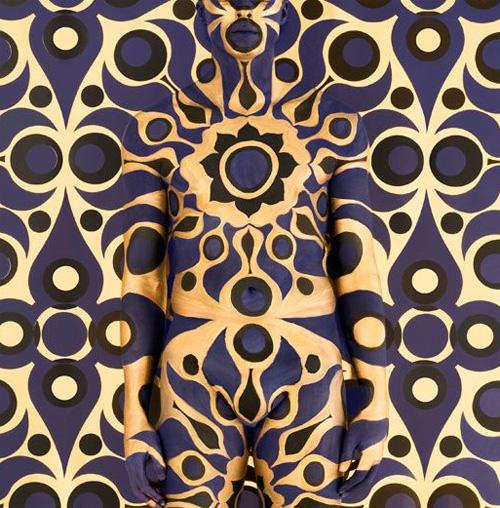 Emma Hacks Camouflage Art