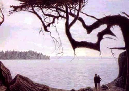 Baby In Picture Illusion