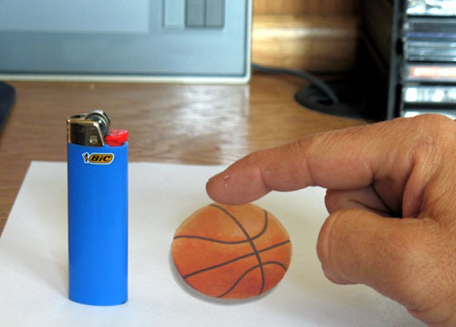 basketball How to do 3D Anamorphic Artwork image gallery