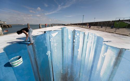 Ice Age Sidewalk by Edgar Müller