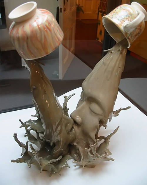 Coffe Kiss Illusion by Tsang Cheung Shing