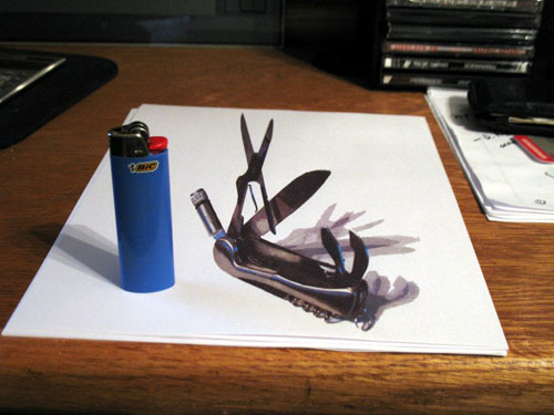 How to do 3D Anamorphic Artwork Yourself