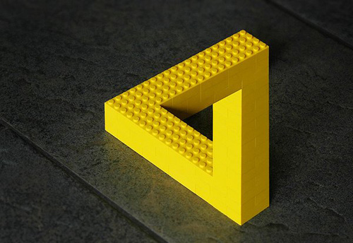Lego Optical Illusion Collection