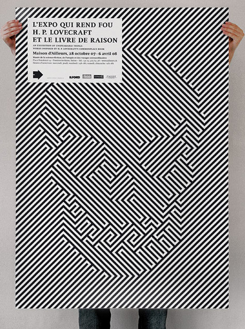 H.P. Lovecraft Illusion Poster