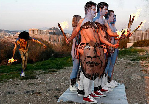 Amazing Obama Body Paint Illusion
