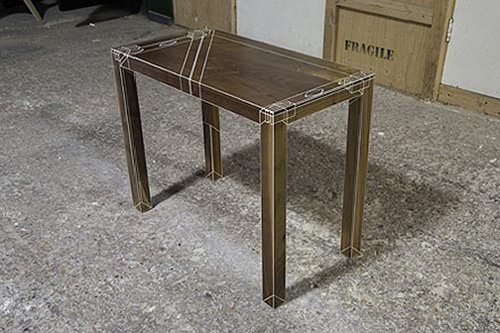 X Ray Vision Table Design