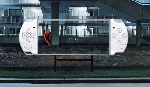 Transparent PSP Billboards Spotted in The Wild