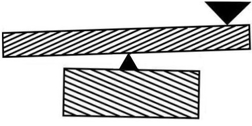 Slanted Seesaw Optical Illusion