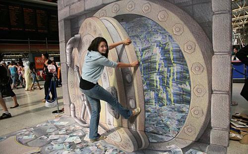 Kurt Wenners 3D Money Vault