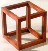 Impossible Cube Illusion