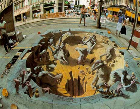 More 3D Sidewalk Drawings