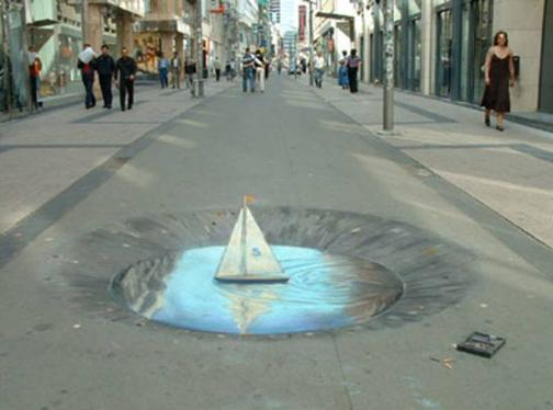 More 3D Sidewalk Drawings