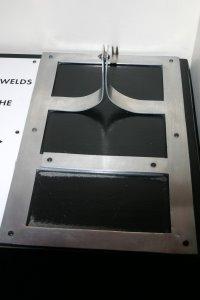 Bent Aluminium Optical Illusion
