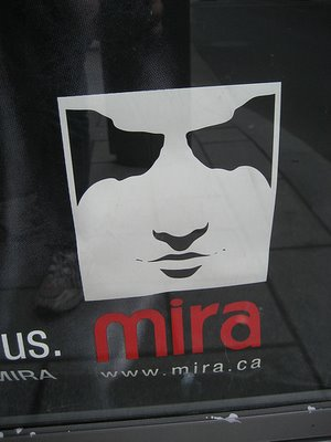 Mira Foundation Poster Optical Illusion