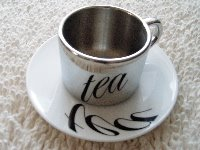 Anamorphic Tea Cups Illusion