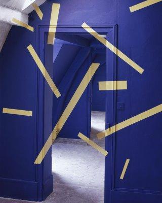 art Installation illusions anamorphic felice-varini asylum ... |Felice Varini Him