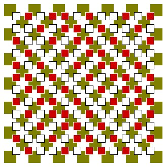 Floating Blocks Optical Illusion