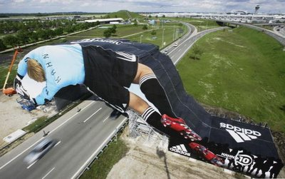 Massive Oliver Kahn WC2006 Billboard