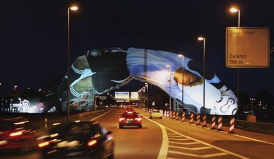 Massive Oliver Kahn WC2006 Billboard
