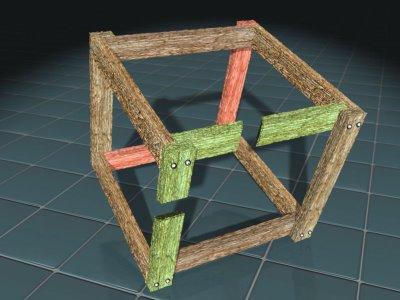 Impossible Crate Box Illusion