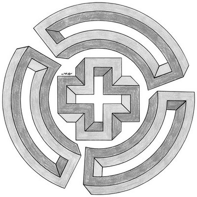 Inspired by MC Escher