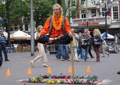 Flying Yogi Illusion