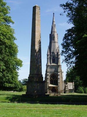 Fountains Abbey Church Illusion
