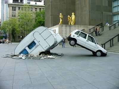 Chicago Art Museums Car and a Trailer Installment
