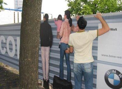 BMWs Optical Illusion