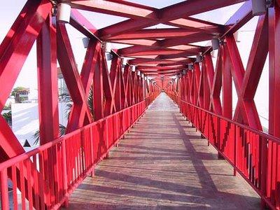 Endless Bridge Illusion