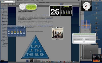 Mac Dashboards: User Submitted Screenshots