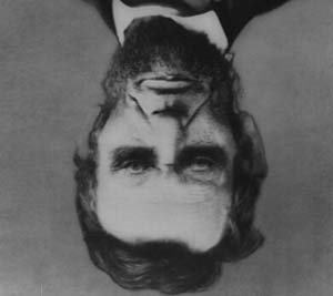Abraham Lincoln Optical Illusion