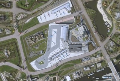 Google Earth Mega Zoom Airport Model