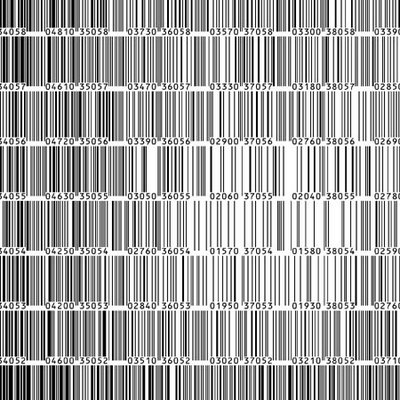 Bar Code Art   Andy Warhol