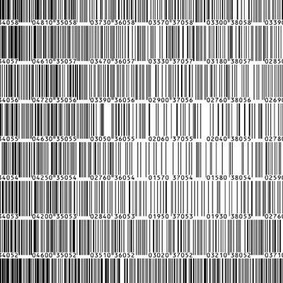 Bar Code Art   Andy Warhol