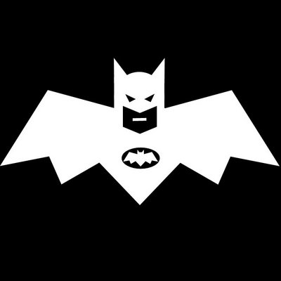 Batmans Logo Illusion