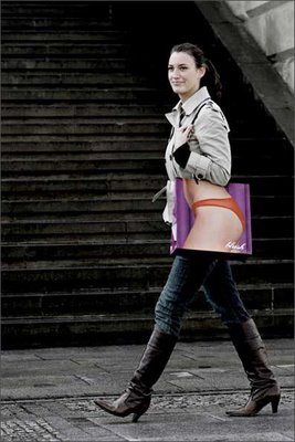 Naked Bag Optical Illusion