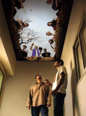 Burial Ceiling: Anti Smoking Campaign