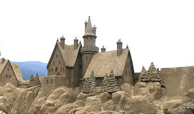 Harrison Lake Sand Sculptures