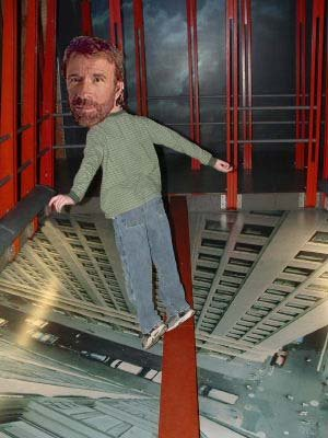 We are all aware Chuck Norris can do whatever he wants.