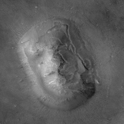 Face On Mars Famous Optical Illusion