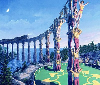 Rob Gonsalves Magic Realism Illusions