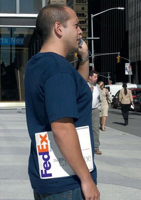 Fedex T Shirt Illusion
