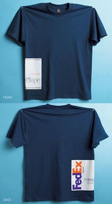 Fedex T Shirt Illusion