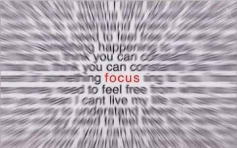 Focus Optical Illusion