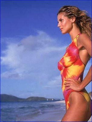 Heidi Klum Swimsuit Bodypaint Illusion