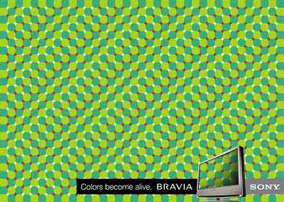 Sony Bravia LCD Billboard Optical Illusions
